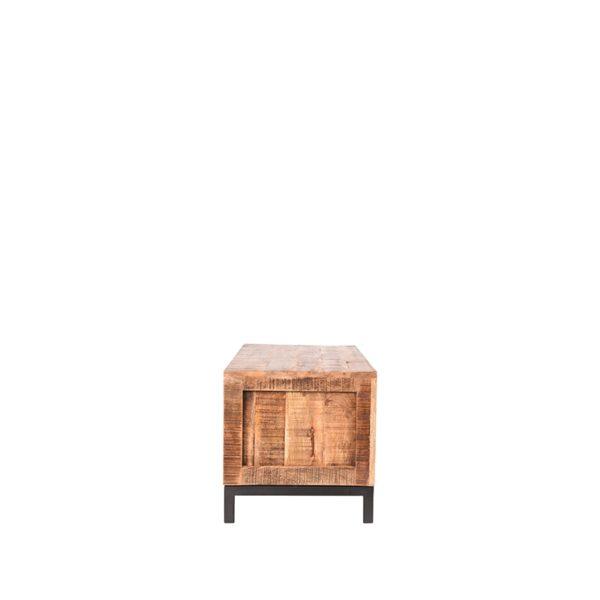 LABEL51 Tv-meubel Ghent - Rough - Mangohout - 120 cm Rough Tv-meubel Tv-dressoir