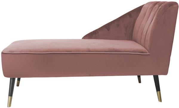 Chaise Longue Royal - Faded pink Leitmotiv Woonaccessoire LM1853PI