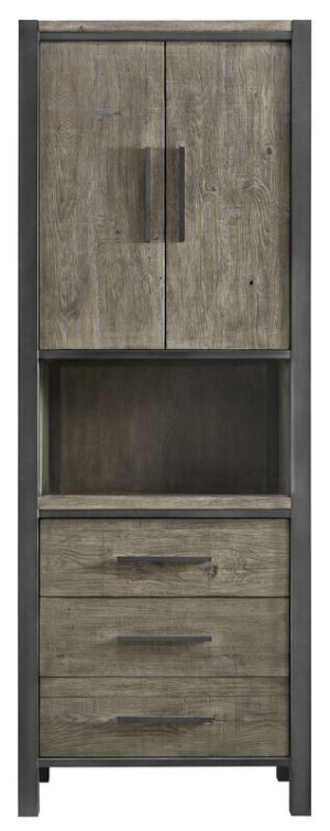 Pronto Wonen Boekenkast Morandi (72 cm) eiken grey  Kast