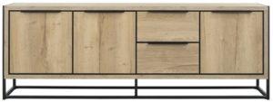 Pronto Wonen Dressoir Cornedo (216 cm) natur decor  Kast