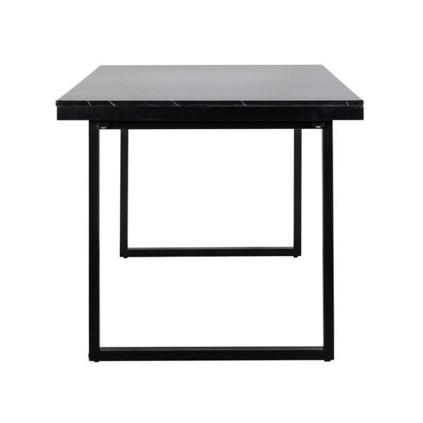 Richmond Interiors Eettafel Beaumont 230 (Black) Black Eettafel
