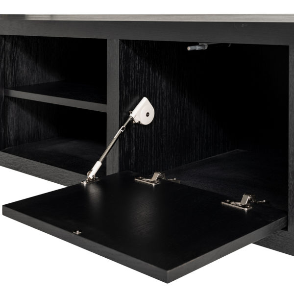 Richmond Interiors TV dressoir Tetrad (Black) Black Dressoir