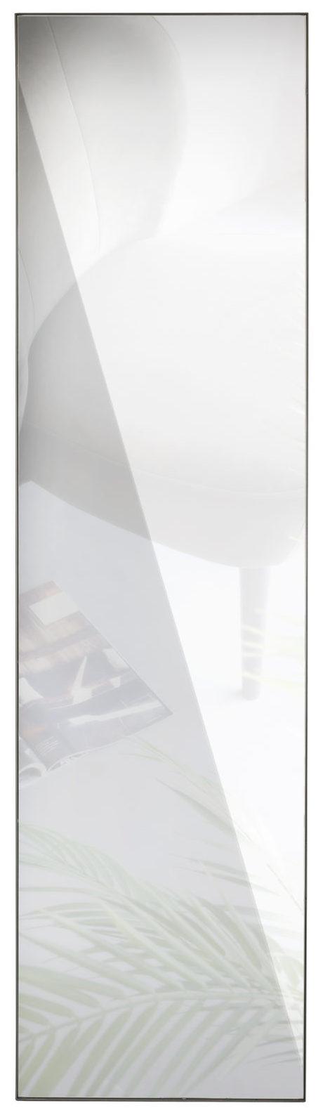 WOOOD Doutzen Spiegel Metaal Zwart 225x60cm Black Woonaccessoire