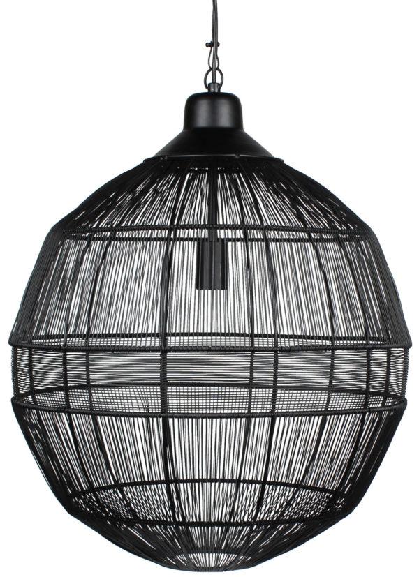 WOOOD Enes Hanglamp Metaal Zwart Black Lamp