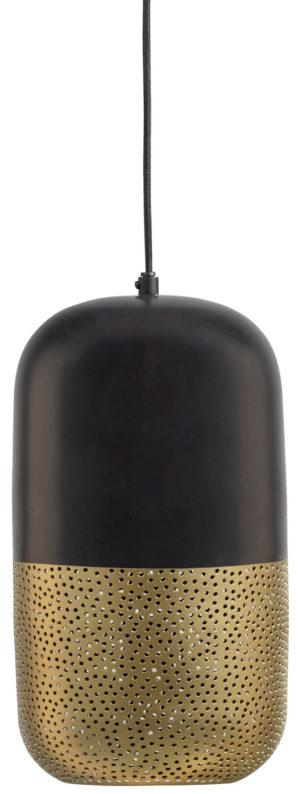 WOOOD Tirsa Hanglamp 36cm Metaal Zwart Brass Black/brass Lamp