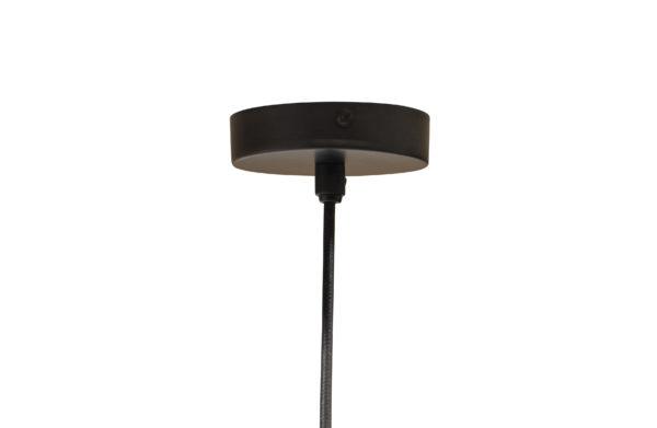 WOOOD Tirsa Hanglamp 46cm Metaal Zwart Brass Black/brass Lamp