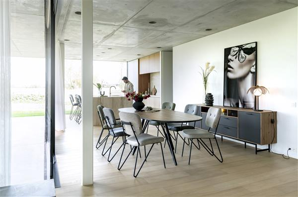 Xooon Torano dressoir 200 cm - 2-deuren + 2-laden + 2-niches (+ LED)  Dressoir