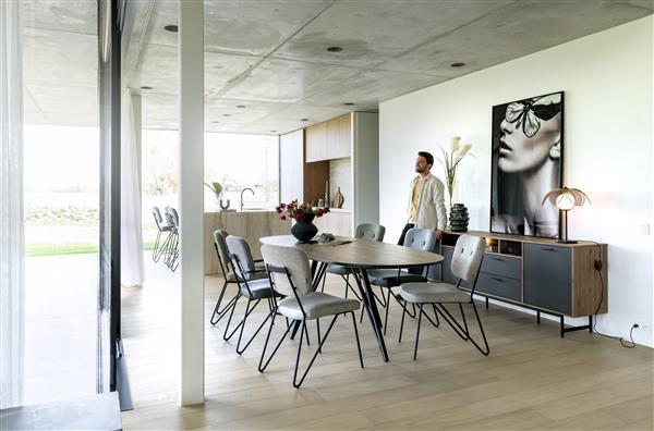 Xooon Torano dressoir 230 cm - 3-deuren + 2-laden + 3-niches (+ LED)  Dressoir