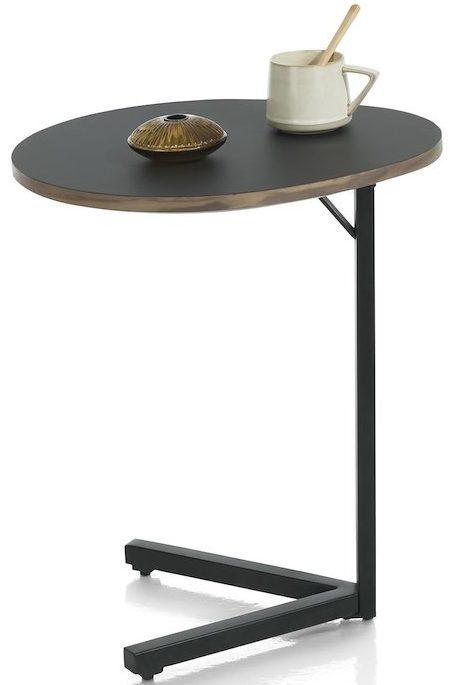 Xooon Torano laptoptafel 45 x 40 cm - zwart  Bijzettafel