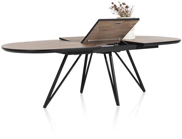 Xooon Torano uitschuiftafel 190 (+ 60) x 110 cm  Eettafel