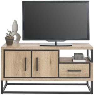 IN.House TV-Meubel Sontari houtstructuur/metaal  Dressoir