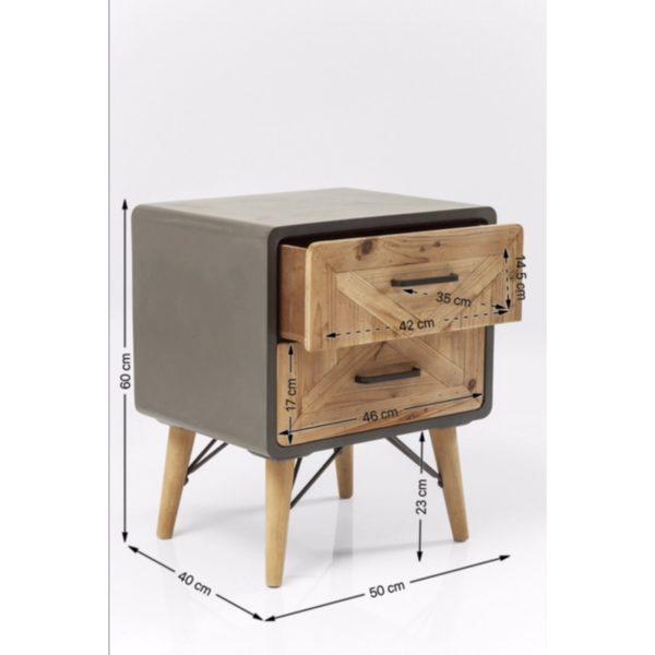 Small X Factory 2 Drw Kare Design  82171