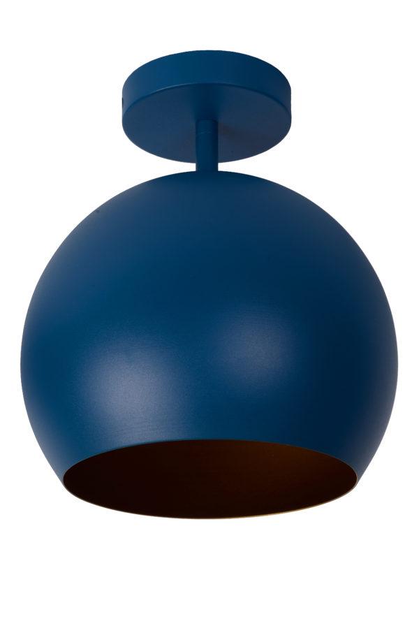 Bink plafonnière - blauw Lucide Plafonnière 45150/01/35