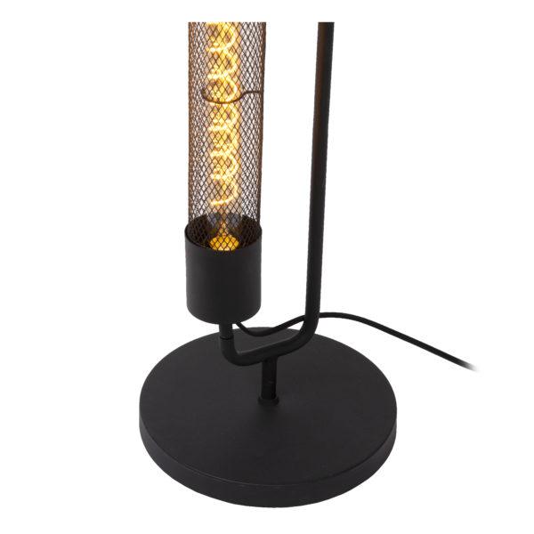 Calixt vloerlamp - zwart Lucide Vloerlamp 05733/02/30