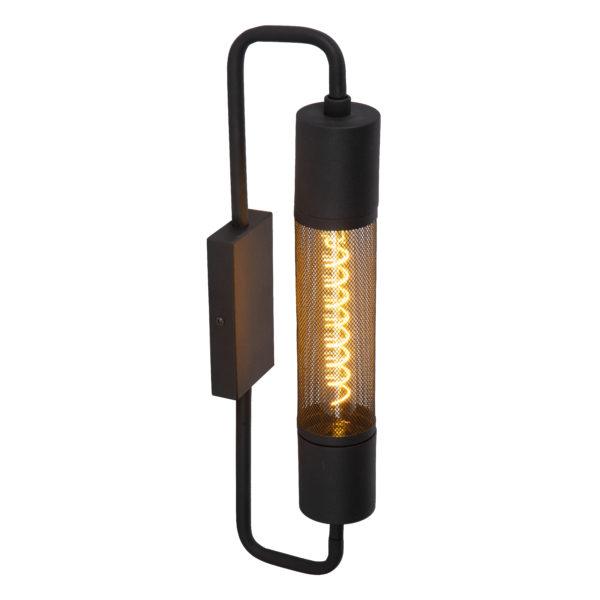 Calixt wandlamp - zwart Lucide Wandlamp 05233/01/30