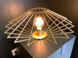 Diamond tafellamp - zwart Lucide Tafellamp 73507/52/02