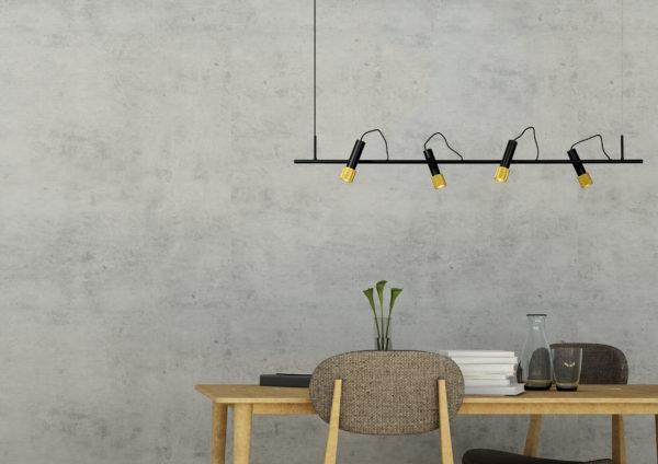 Duele hanglamp - mat goud / messing Lucide Hanglamp 20420/20/30