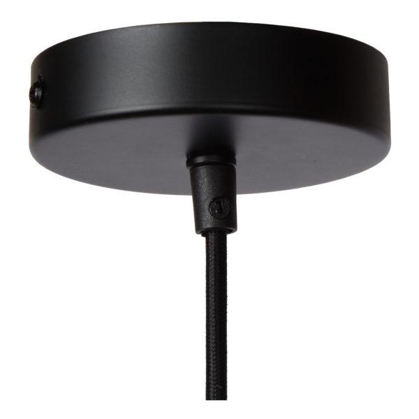 Extravaganza Togo hanglamp - zwart Lucide Hanglamp 10407/25/36