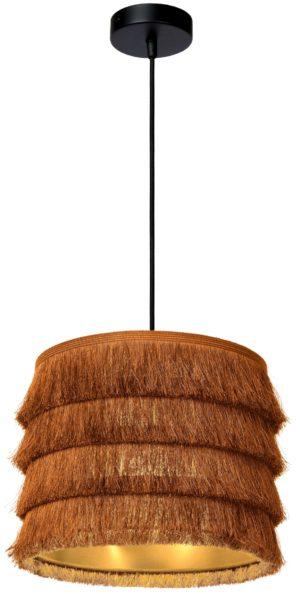 Extravaganza Togo hanglamp - zwart Lucide Hanglamp 10407/25/44