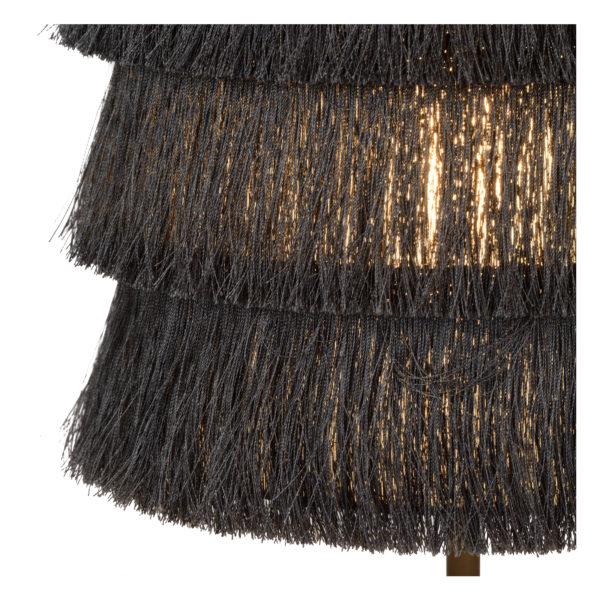 Extravaganza Togo tafellamp - zwart Lucide Tafellamp 10507/81/36