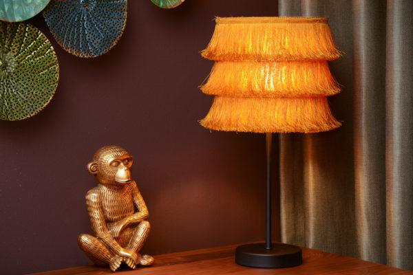Extravaganza Togo tafellamp - zwart Lucide Tafellamp 10507/81/44
