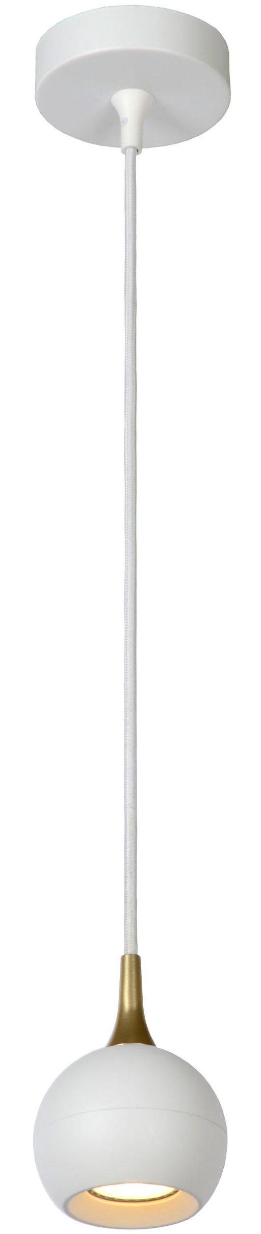 Favori hanglamp - mat goud / messing Lucide Hanglamp 09434/01/31