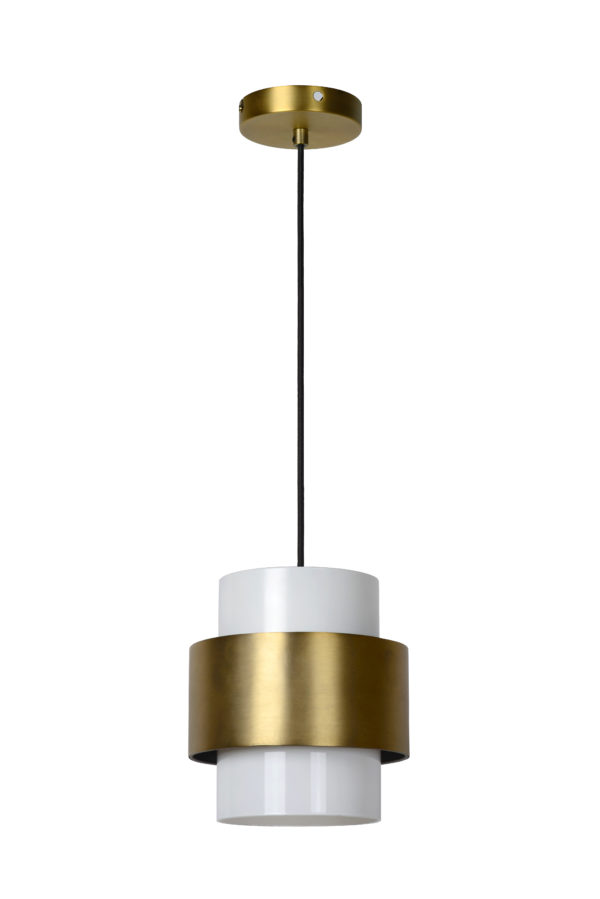 Firmin hanglamp - opaal Lucide Hanglamp 45497/20/02