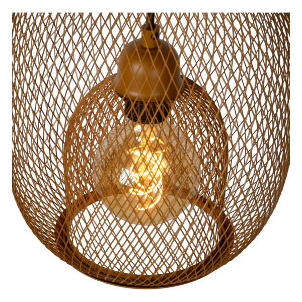 Jerrel hanglamp - bruin Lucide Hanglamp 78396/01/43
