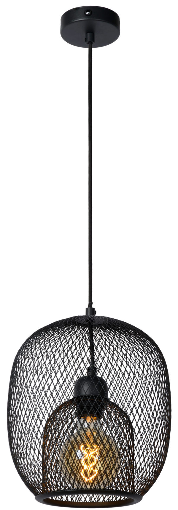 Jerrel hanglamp - zwart Lucide Hanglamp 78396/01/30
