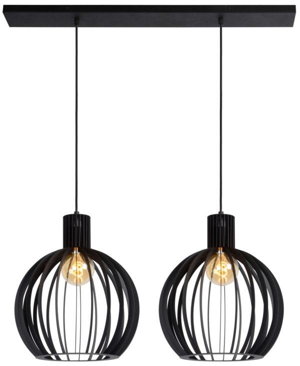 Mikaela hanglamp - zwart Lucide Hanglamp 73400/02/30
