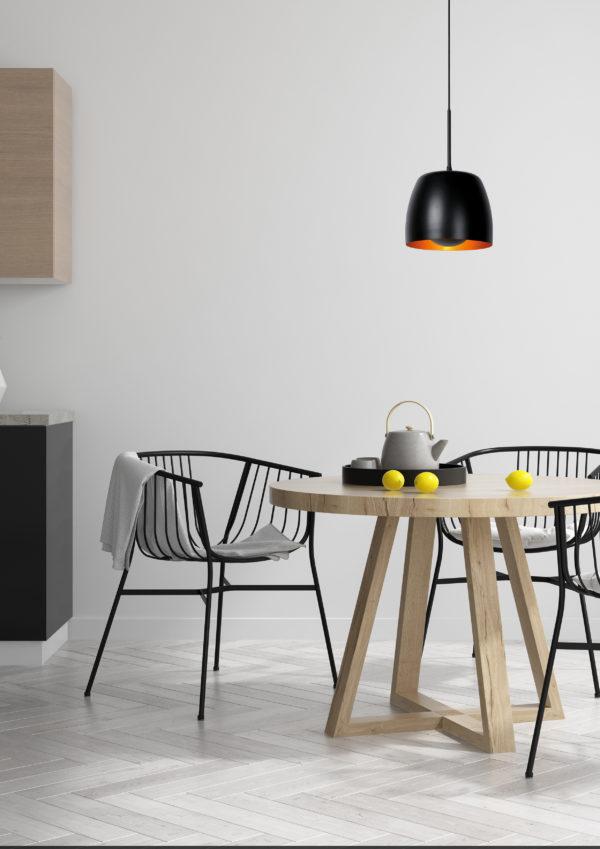 Nolan hanglamp - zwart Lucide Hanglamp 30488/01/30