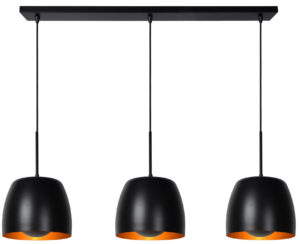 Nolan hanglamp - zwart Lucide Hanglamp 30488/03/30