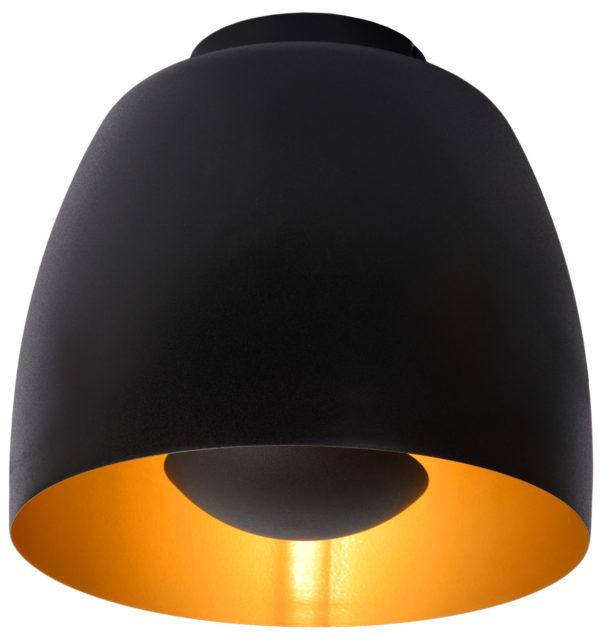 Nolan plafonnière - zwart Lucide Plafonnière 30188/01/30