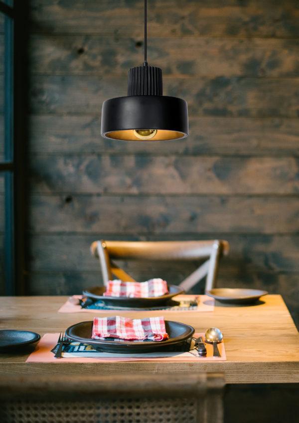 Ophelia hanglamp - zwart Lucide Hanglamp 20419/20/30