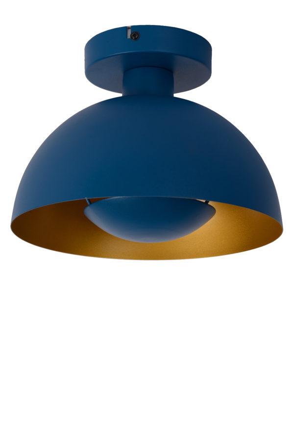 Siemon plafonnière - blauw Lucide Plafonnière 45196/01/35