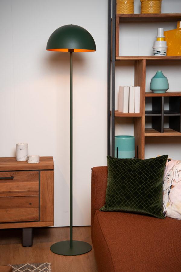 Siemon vloerlamp - groen Lucide Vloerlamp 45796/01/33