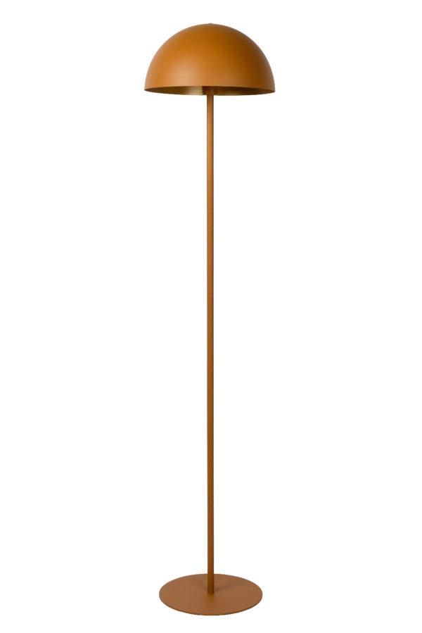 Siemon vloerlamp - okergeel Lucide Vloerlamp 45796/01/44