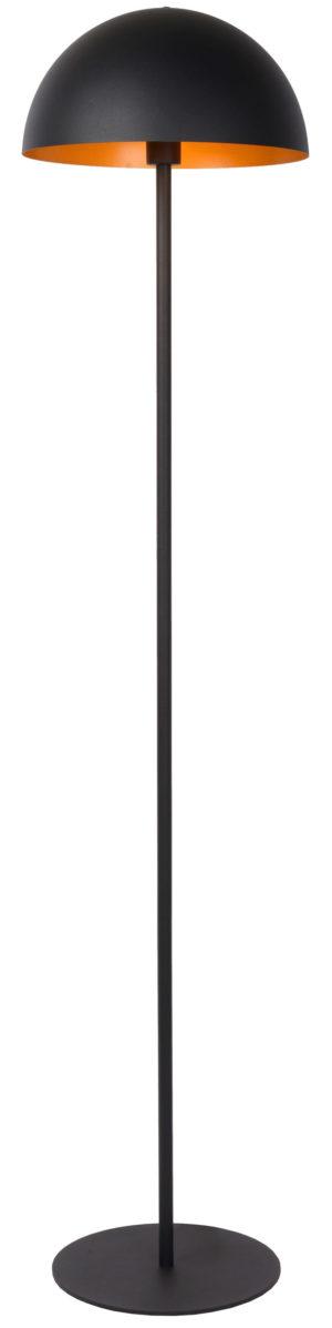 Siemon vloerlamp - zwart Lucide Vloerlamp 45796/01/30