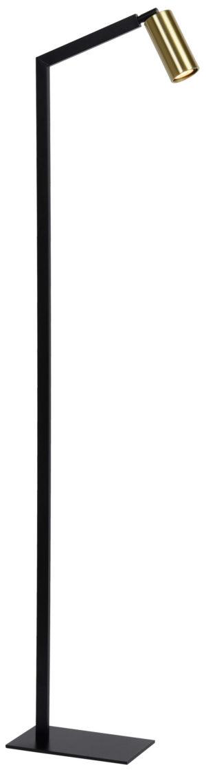 Sybil vloerlamp - mat goud / messing Lucide Vloerlamp 45799/01/30