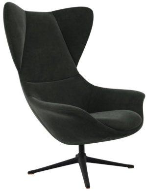 Flexlux fauteuil Stilo in stof super velvet dusty green